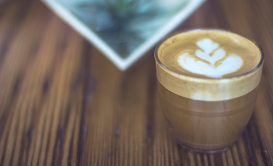 Coffee Latte Cafe Espresso Flat White Free Photo