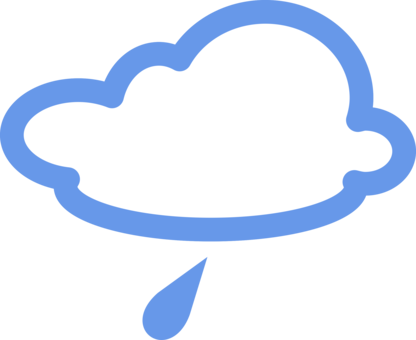 Computer Icons Weather Storm Rain Cloud Free Commercial Clipart