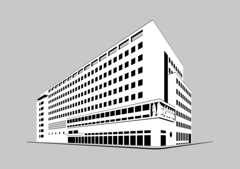 shophouse computer icons building drawing architecture free