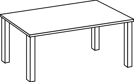 Coffee Table Drawing To Table Line Art Drawing Computer Icons Free Clipart Bedside Tables Coffee Furniture Commercial