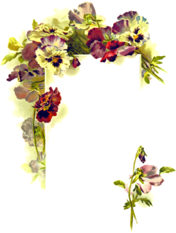 Bridal Registry Wedding Floral Design Free Commercial Clipart
