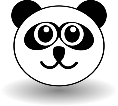 Giant Panda Bear Computer Icons Drawing Black And White   Free Clipart
