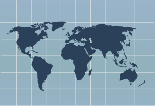 World Map Globe Vector Map   Free Clipart