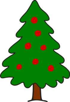 clip art christmas christmas tree drawing free clipart