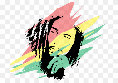 Reggae Rastafari Cannabis smoking 420 Day CC0 - Art,Yellow ...