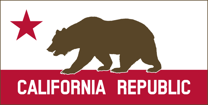 Banner California California Republic Flag Of California Bear