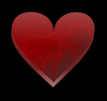 Broken Heart Love Blood Suffering Free Commercial Clipart Broken