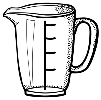Measuring Cup Measurement Kitchen Spoon Free Clipart