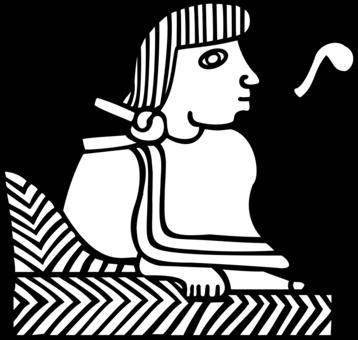 Aztec Empire Huey Tlatoani Crown Free Commercial Clipart