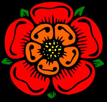 Flower Rose Drawing Color Description Free Commercial Clipart