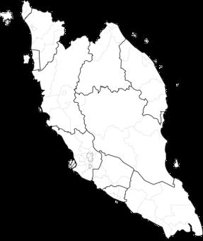 Malaysia On The World Map.Peninsular Malaysia Blank Map World Map Mapa Polityczna Free