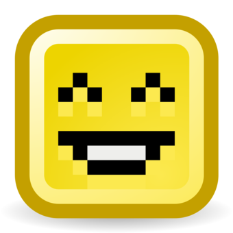 Smiley Emoticon Computer Icons Minecraft Emoji   Free Clipart. Computer  Icons Line Art Pixel ...