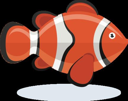 Allard\'s clownfish Animal Copyright free commercial clipart - 8bit ...