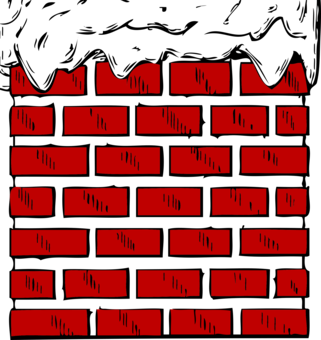 fireplace mantel clip art christmas chimney free commercial clipart