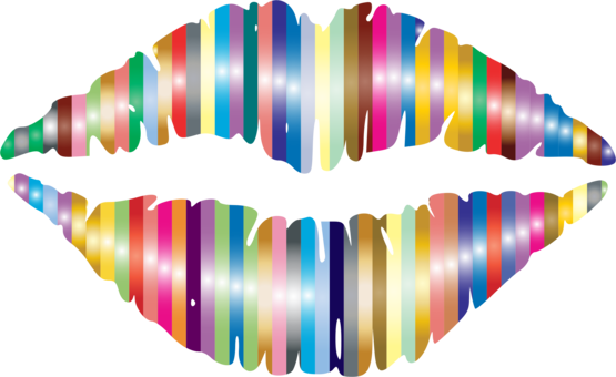Lip Drawing Mouth Diagram Kiss Free Commercial Clipart Lipface