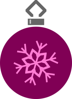 Christmas Ornament Day Silhouette Decoration