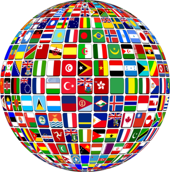 Flags Of The World World Flag National Flag Free Commercial Clipart