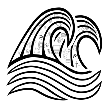 Wind Wave Sea Ocean Drawing Computer Icons Free Commercial Clipart
