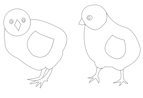 Black and white Chicken Coloring book free commercial clipart ...