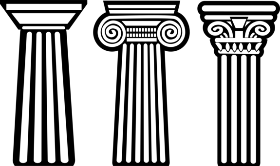 ionic order of greek architecture